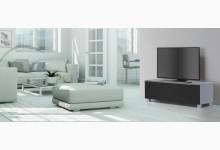 TV Lowboard Mod.MJ343 Blauglas - Schwarz