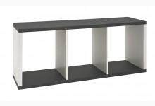 Lowboard Mod.87586 Granitoptik-Weiß