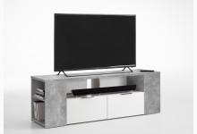 Lowboard Mod.F262-001 Light Atelier/Weiß