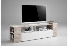 Lowboard Mod.F262-002 Sandeiche/Weiß