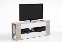 Lowboard Mod.F262-004 Sandeiche/Weiß