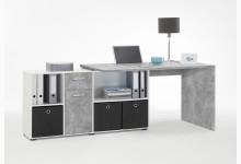 Schreibtisch Mod.F353-001 Light Atelier/Weiß