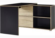 Schreibtisch Mod.GM603 Anthrazit - Sonoma Eiche