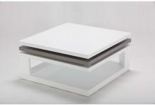 Couchtisch Mod.BC009 Weiß - Grau