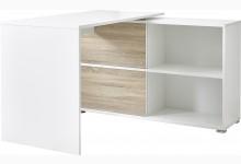 Schreibtisch Mod.GM604 Weiss - Sonoma Eiche