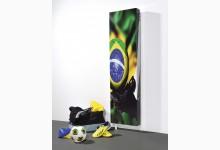 Drehbarer Schuhschrank - Mehrzweckschrank Motiv Brazil