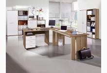 10-tlg. Arbeits- & Bürozimmer Mod.GM948 Sonoma-Eiche/Weiß