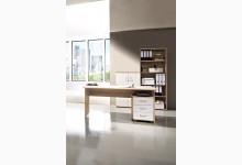 4-tlg. Arbeits- & Bürozimmer Mod.GM949 Sonoma-Eiche/Weiß