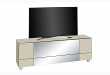TV Lowboard Mod.MJ543 Sandglas - Infrarotspiegel Grau