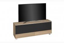 TV Soundboard mit integriertem Soundsystem Mod.MJ551 Sonoma Eiche - Schwarz