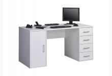 Computertisch Mod.MJ574 Weiß