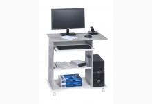 Schreibtisch Mod.MJ578 Betonoptik - Weiß