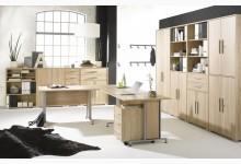 11tlg. Arbeits- & Bürozimmer Mod.MJ611 Sonoma Eiche