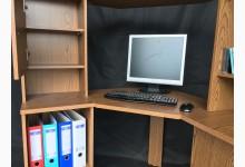 Computertisch - Schreibtisch T202 Rustikal