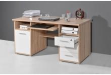 Schreibtisch Mod.GM640 Sonoma Eiche - Weiss