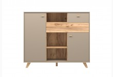 Highboard Mod.GM1037 Steingrau