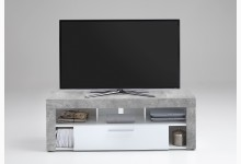 TV Lowboard Mod.F271-001 Beton Weiss