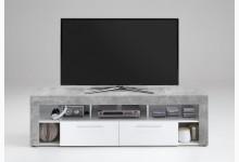 TV Lowboard Mod.F271-002 Beton Weiss