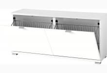 Schuhbank Mod.GM1193 Weiß