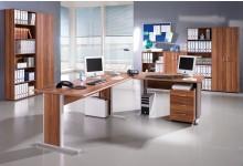 Büro- & Arbeitszimmer 10-teilig Mod.GM154 Walnuss