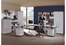 Büro- & Arbeitszimmer 11-teilig Mod.GM195 Lichtgrau