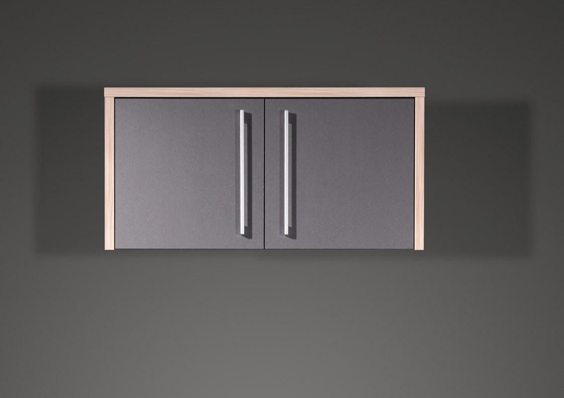 Büro- & Arbeitszimmer 20-teilig Mod.GM112 Anthrazit - H&C Möbel | {Hängeschrank büro 80}