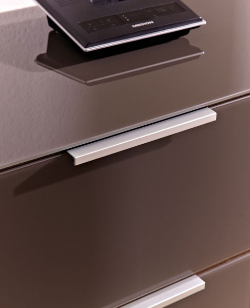 lowboard unterschrank sonoma eiche braun glasfront k671 h c m bel. Black Bedroom Furniture Sets. Home Design Ideas
