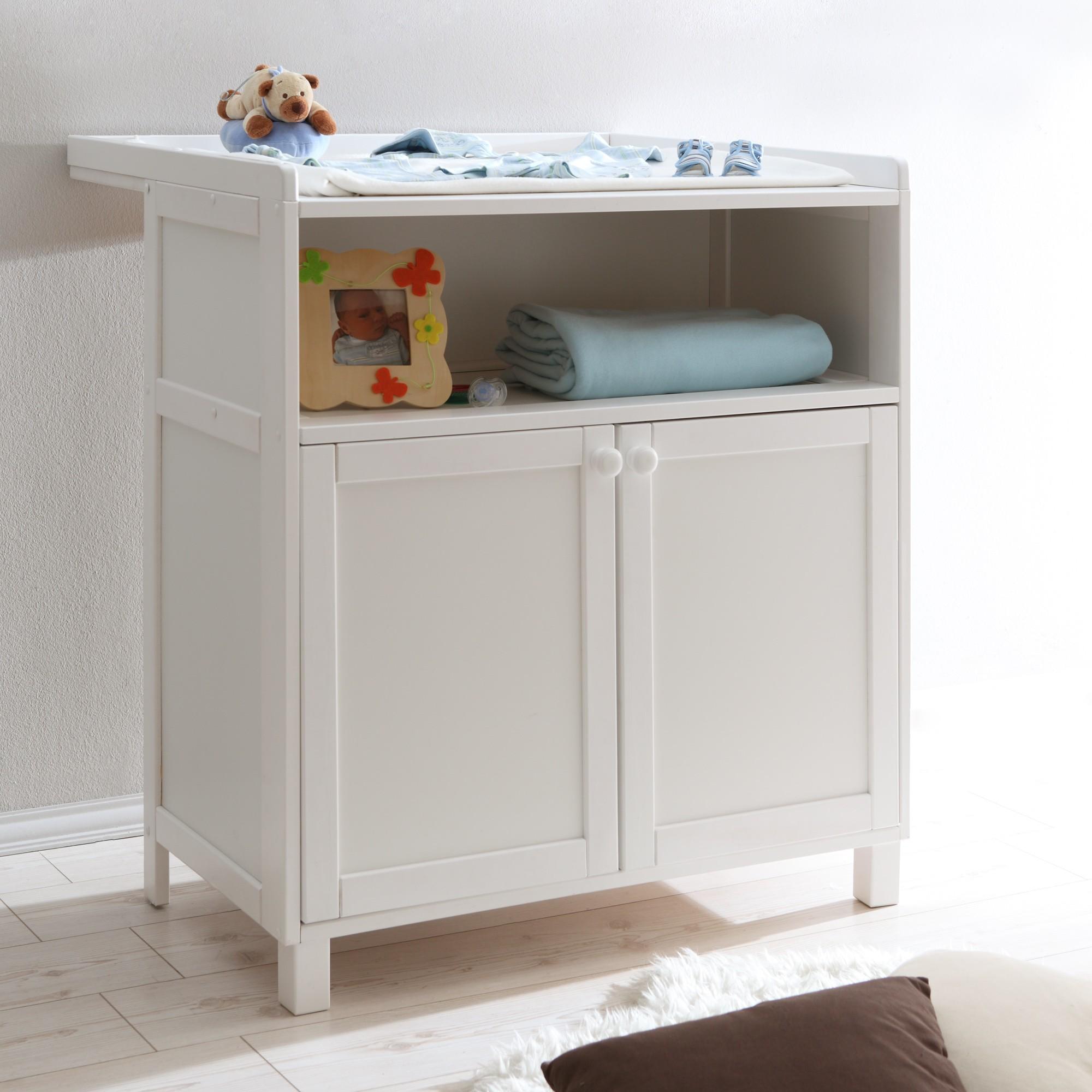 babyzimmer 2 teilig kiefer weiss h c m bel. Black Bedroom Furniture Sets. Home Design Ideas