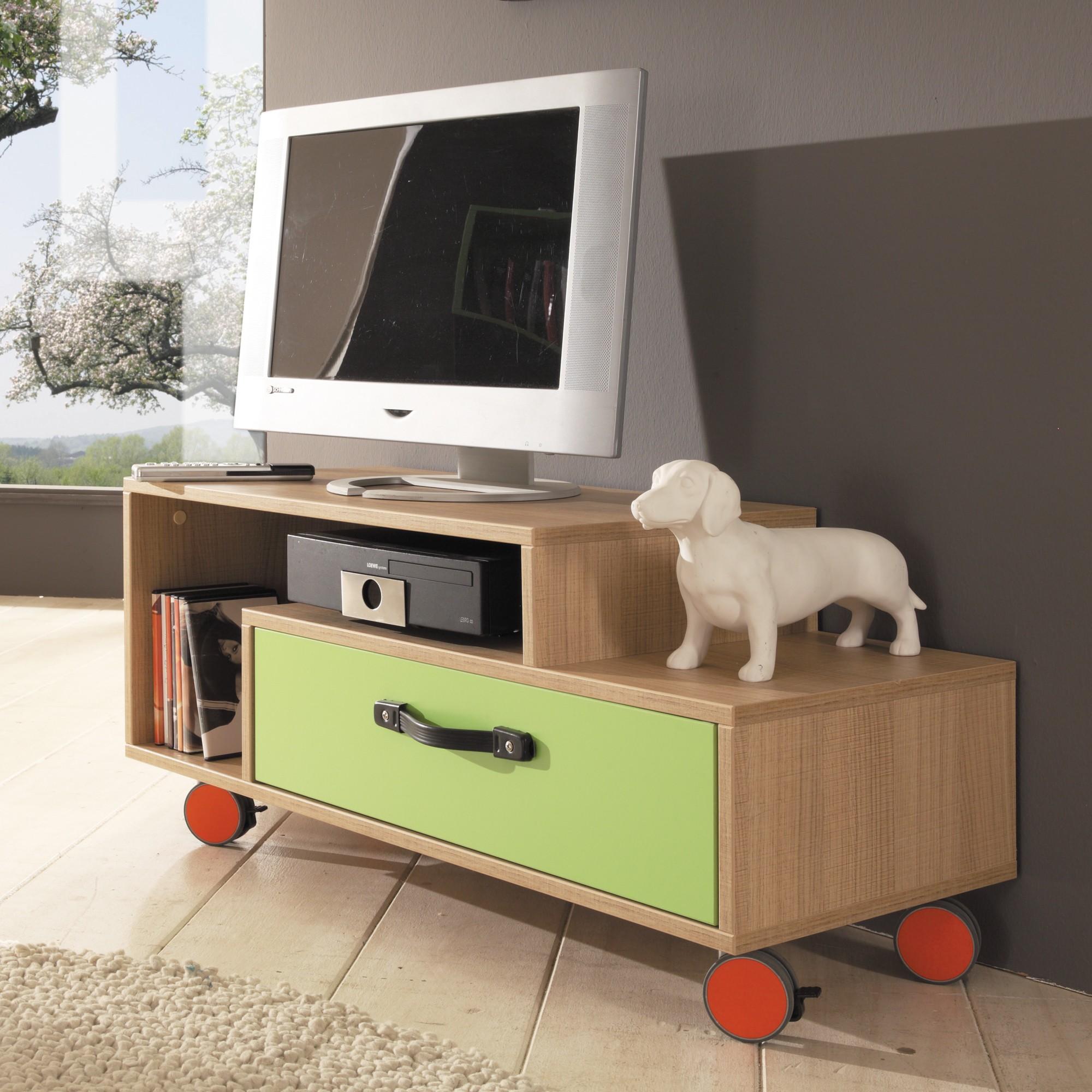 jugendzimmer gr n anthrazit hellbraun h c. Black Bedroom Furniture Sets. Home Design Ideas