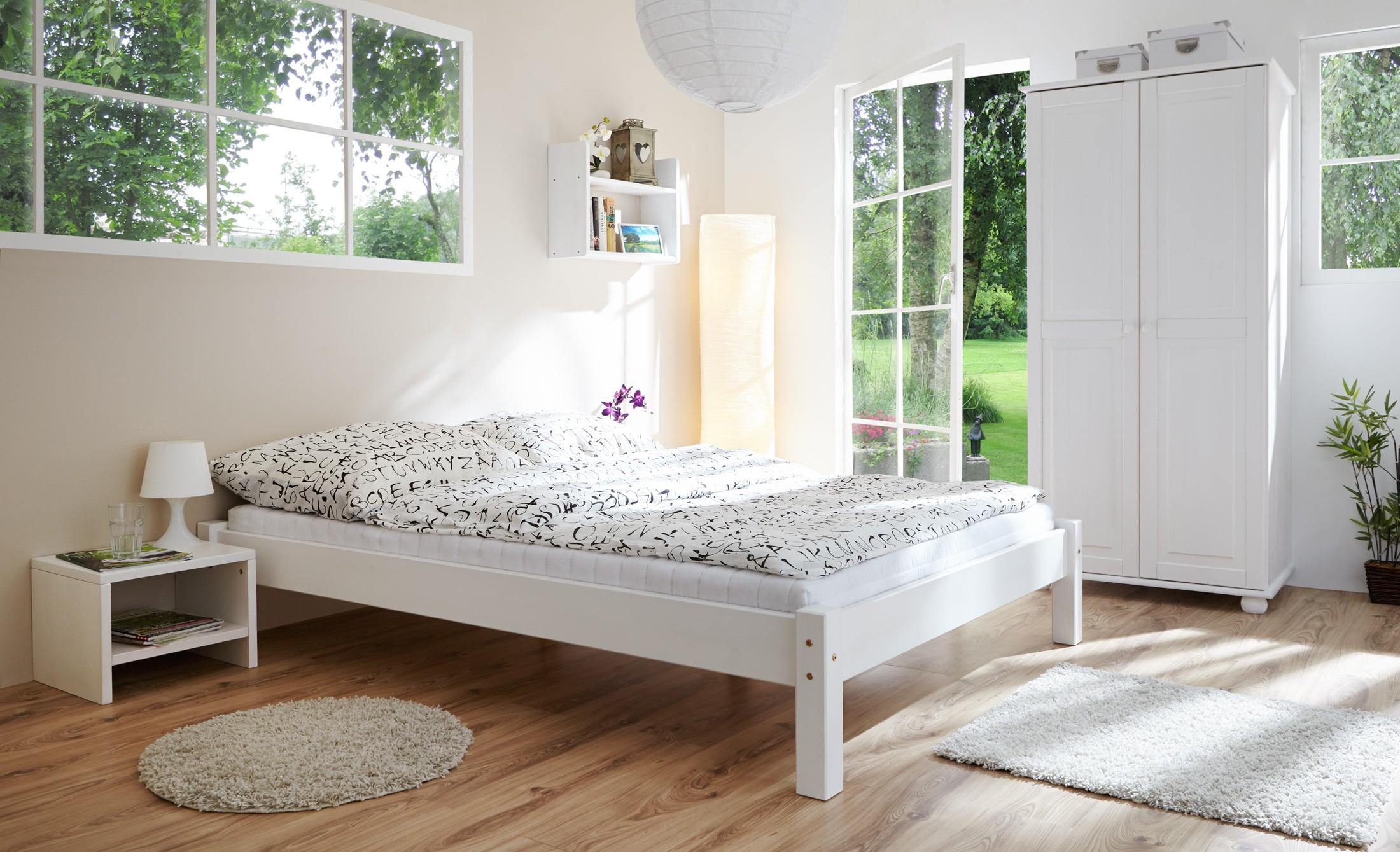 jugendzimmer kiefer weiss h c m bel. Black Bedroom Furniture Sets. Home Design Ideas