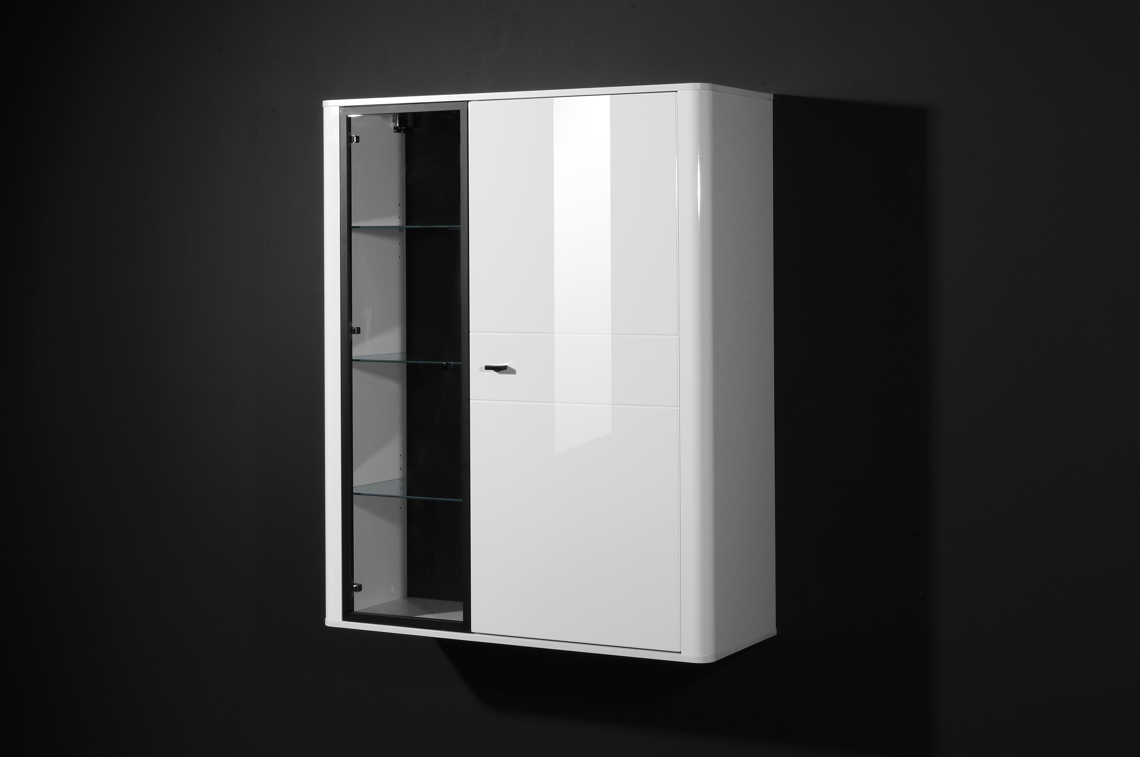4tlg wohnwand mod so188 weiss hochglanz h c m bel. Black Bedroom Furniture Sets. Home Design Ideas