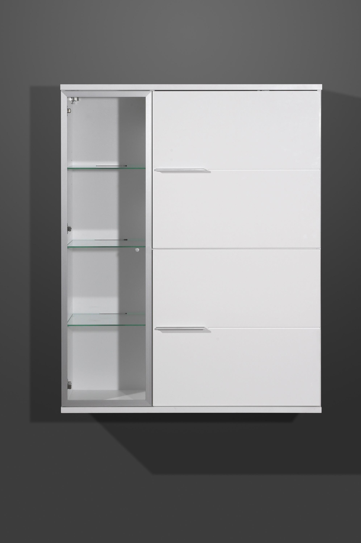 h ngevitrine mod gm805 wei hochglanz h c m bel. Black Bedroom Furniture Sets. Home Design Ideas