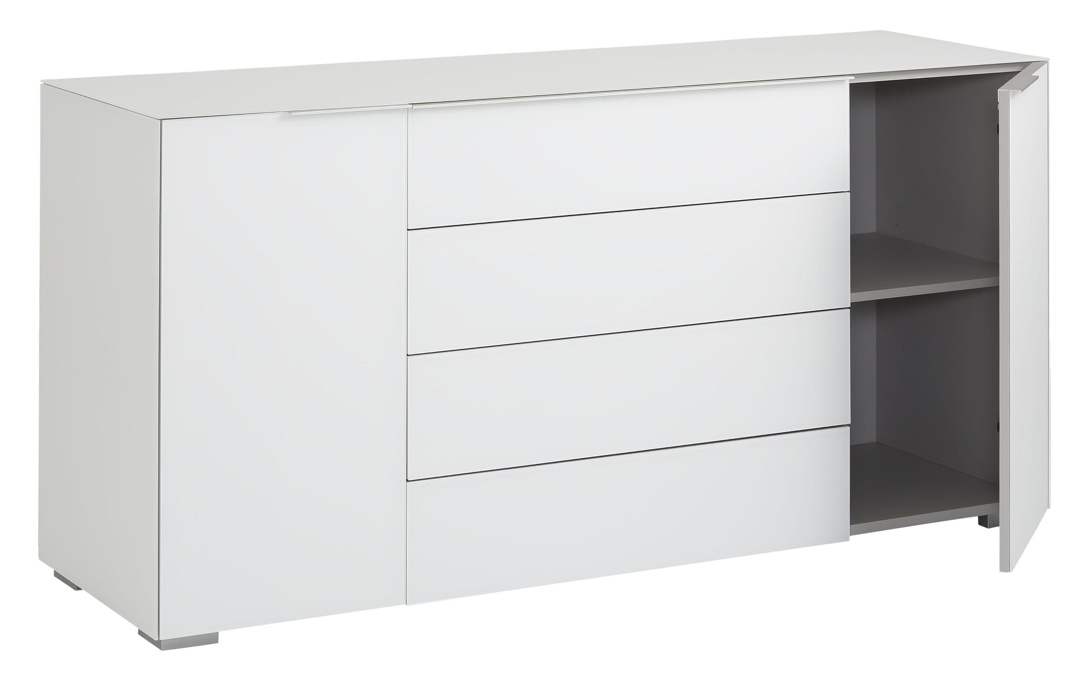 Sideboard Mod Mj622 Weissglas H C Mobel