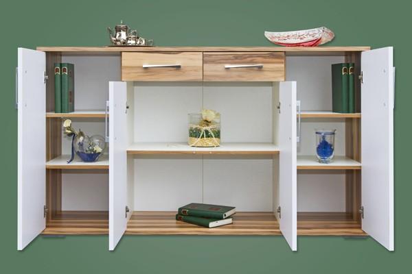 Sideboard Mod K495 Baltimore Weiss Hochglanz H C Mobel