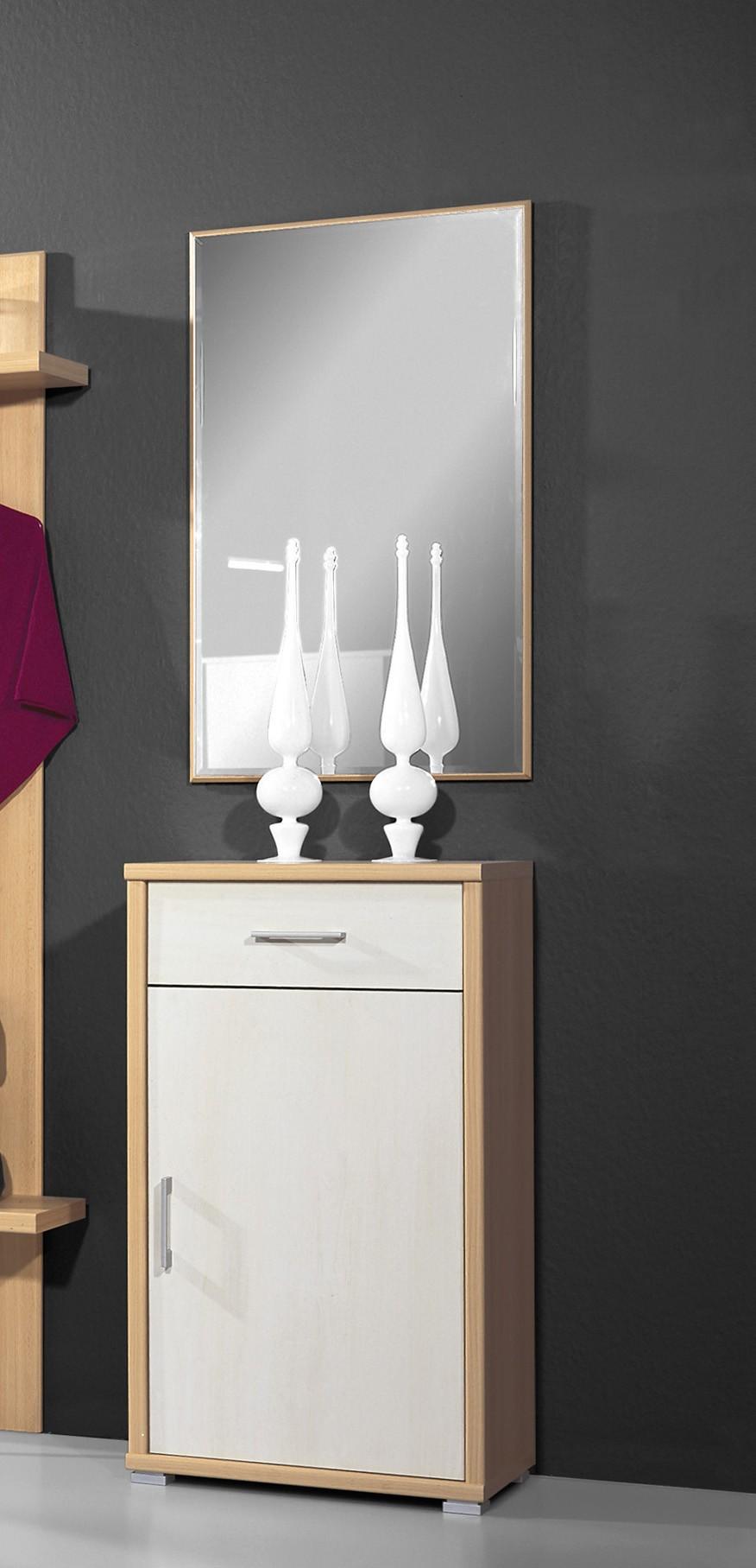 kommode mit spiegel ke870 buche birke h c m bel. Black Bedroom Furniture Sets. Home Design Ideas