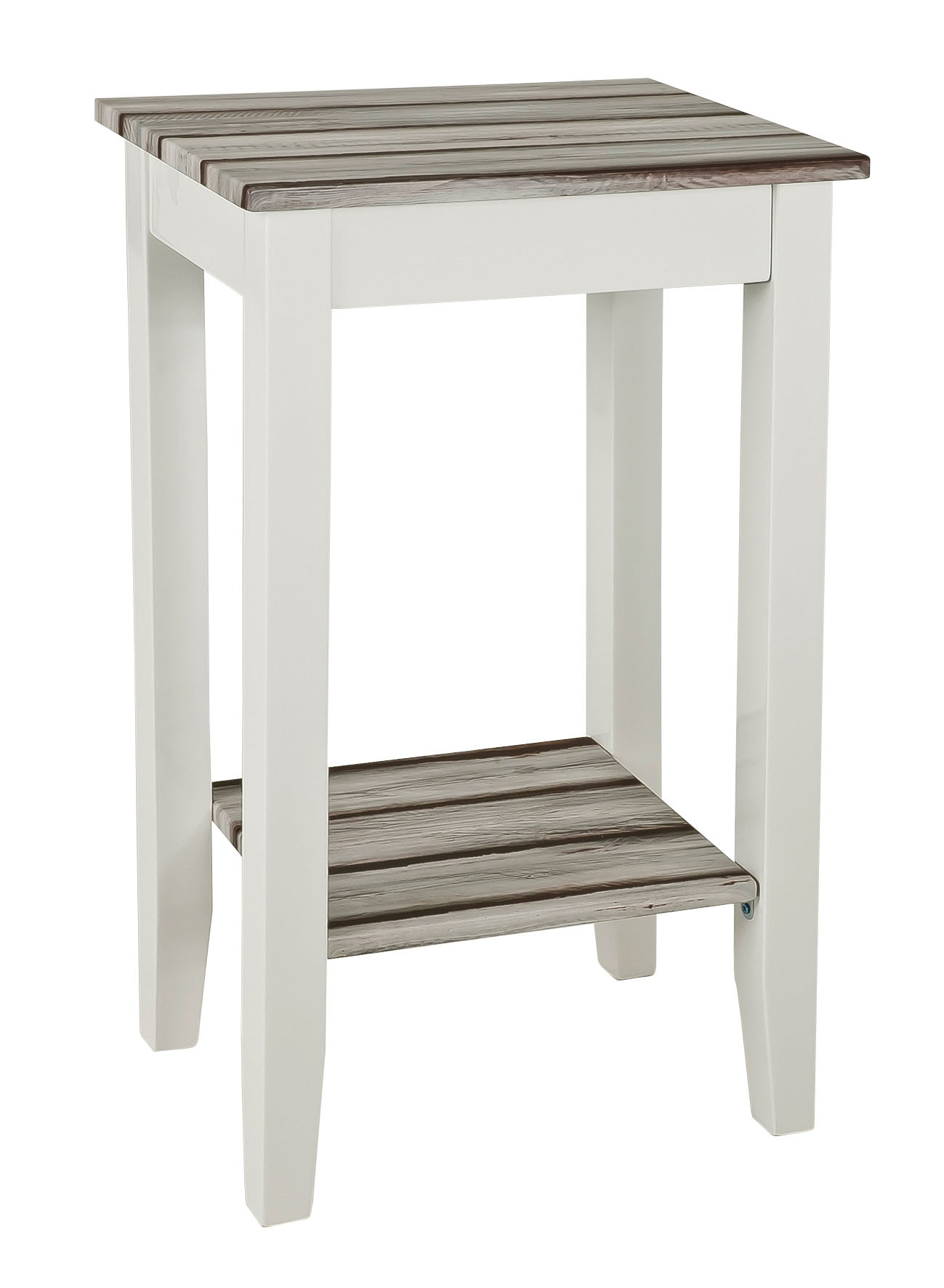 beistelltisch konsole tisch blumentisch mod t147 weiss hochglanz maritimo kiefer ebay. Black Bedroom Furniture Sets. Home Design Ideas