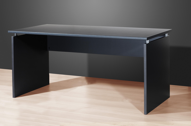 schreibtisch arbeitstisch b rotisch wange mod t127 anthrazit walnu esche karbon ebay. Black Bedroom Furniture Sets. Home Design Ideas