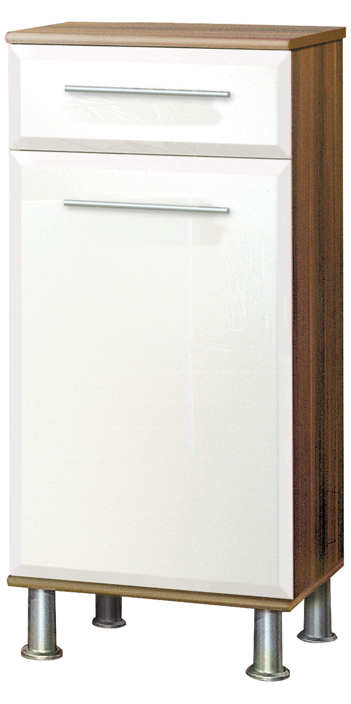 badkommode badschrank badezimmer kommode b087 3 walnuss. Black Bedroom Furniture Sets. Home Design Ideas