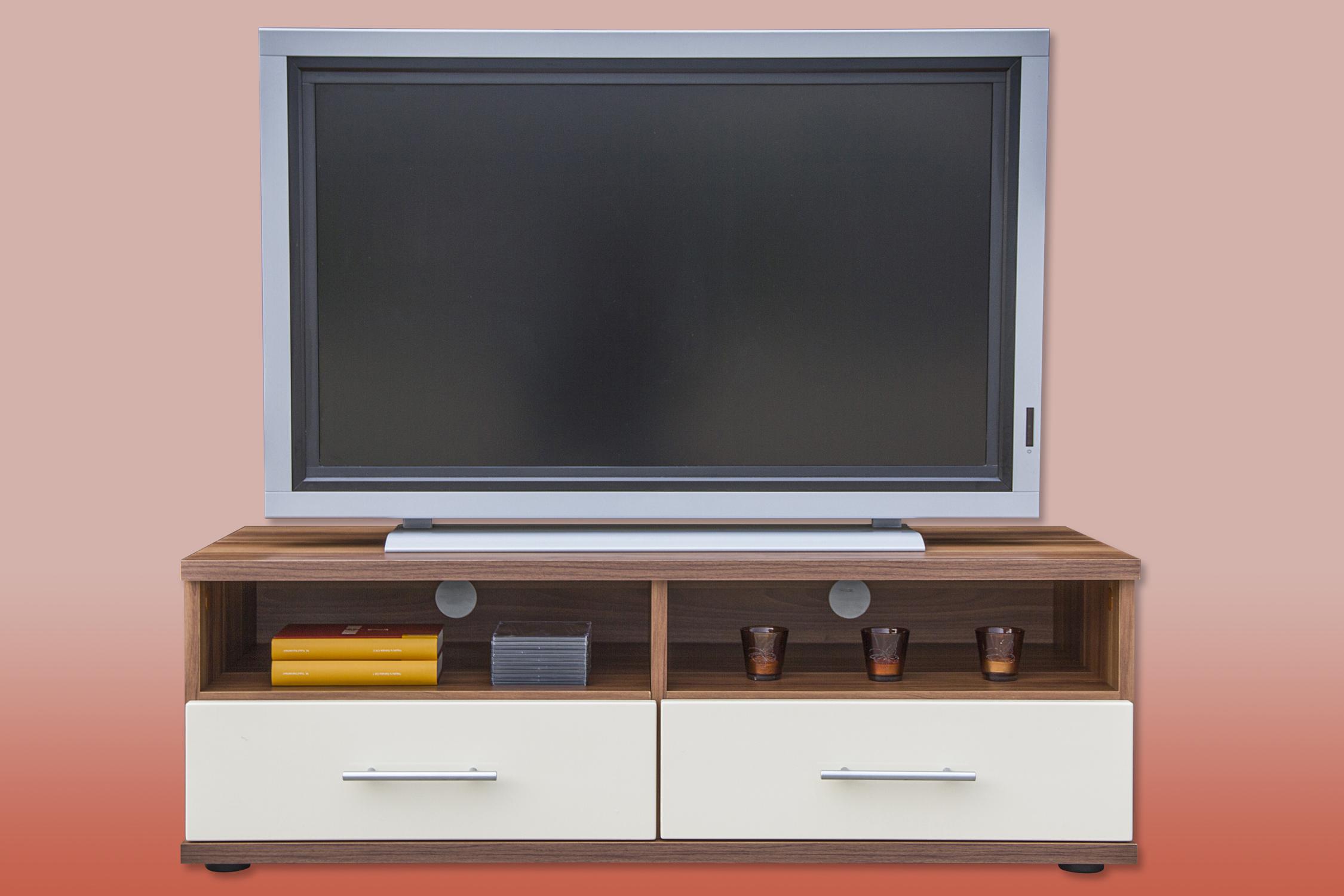 TV Lowboard TV Schrank Mod.TV650 Kernbuche Nussbaum Buche Hochglanz  eBay