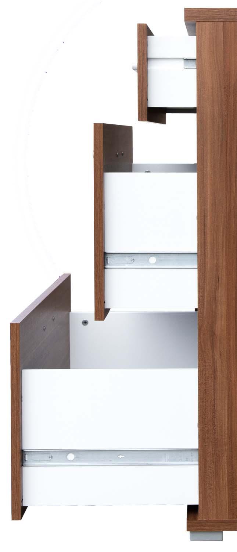 kommode sideboard anrichte aktenschrank flurkommode mehrzweck buche cs schmal ebay. Black Bedroom Furniture Sets. Home Design Ideas