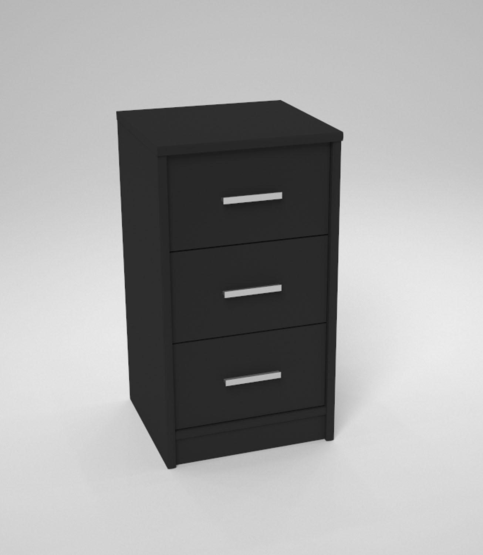 nachtkommode boxspringbett nachtkonsole nachttisch wei schwarz nussbaum eiche ebay. Black Bedroom Furniture Sets. Home Design Ideas