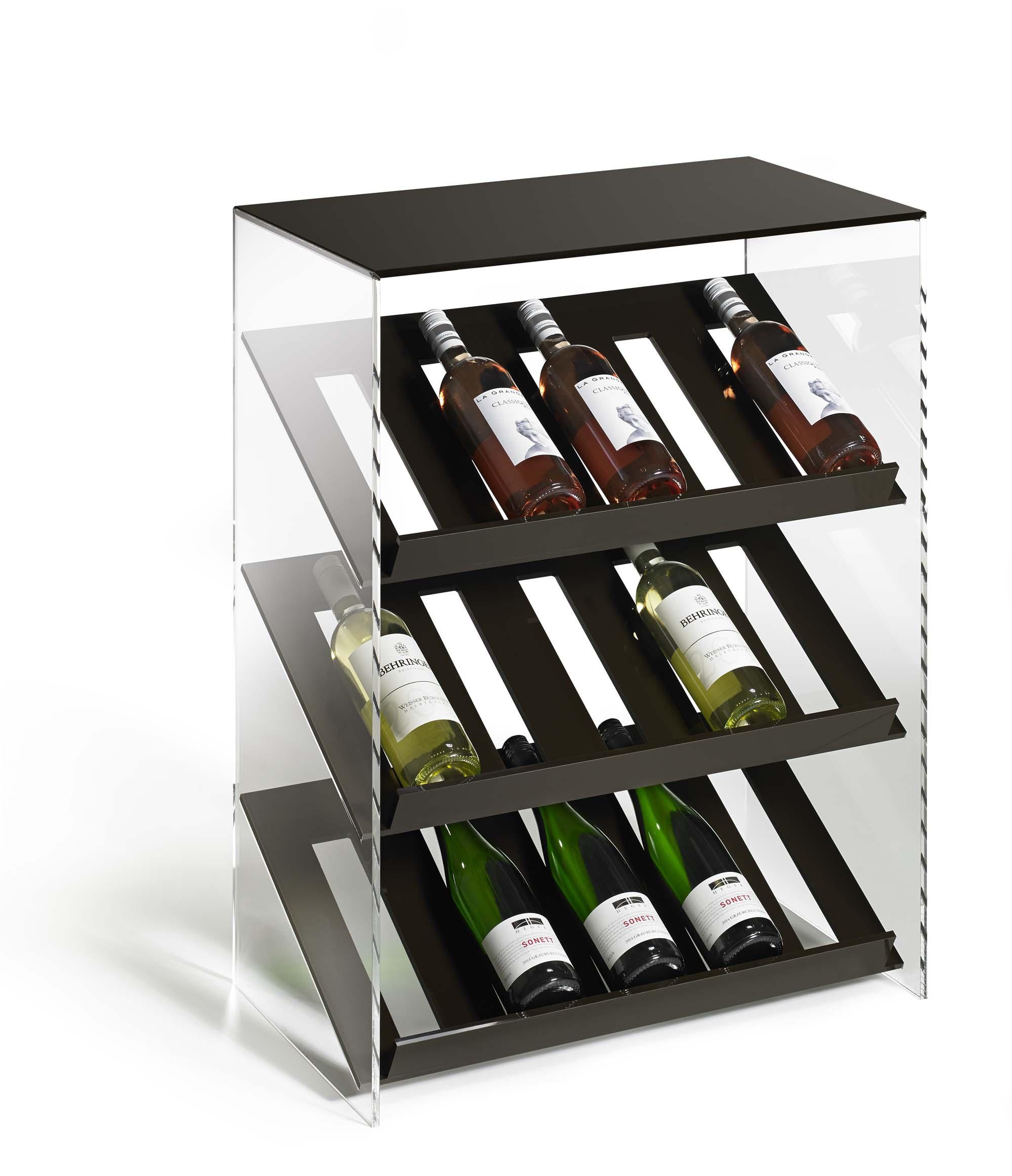 H C Möbel : design weinregal flaschenregal weinhalter wein braun schwarz weiss grau beige ebay ~ Watch28wear.com Haus und Dekorationen