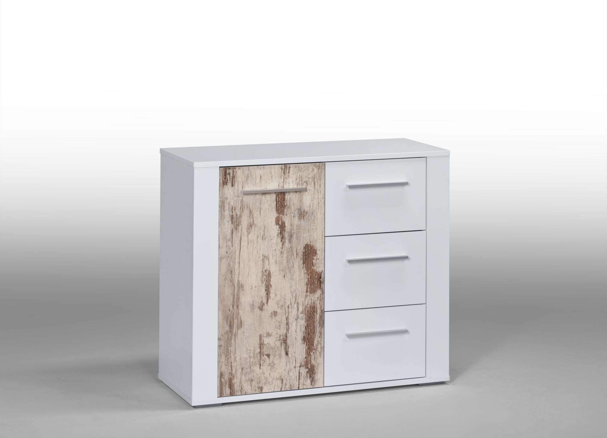 kommode aktenschrank mehrzweckschrank schrank k505 1 weiss hochglanz retro ebay. Black Bedroom Furniture Sets. Home Design Ideas