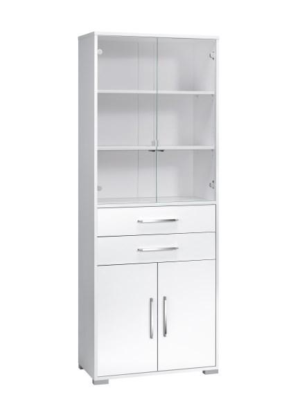 schrank aktenschrank mehrzweckschrank b roschrank mod mj430 icy wei hochglanz ebay. Black Bedroom Furniture Sets. Home Design Ideas