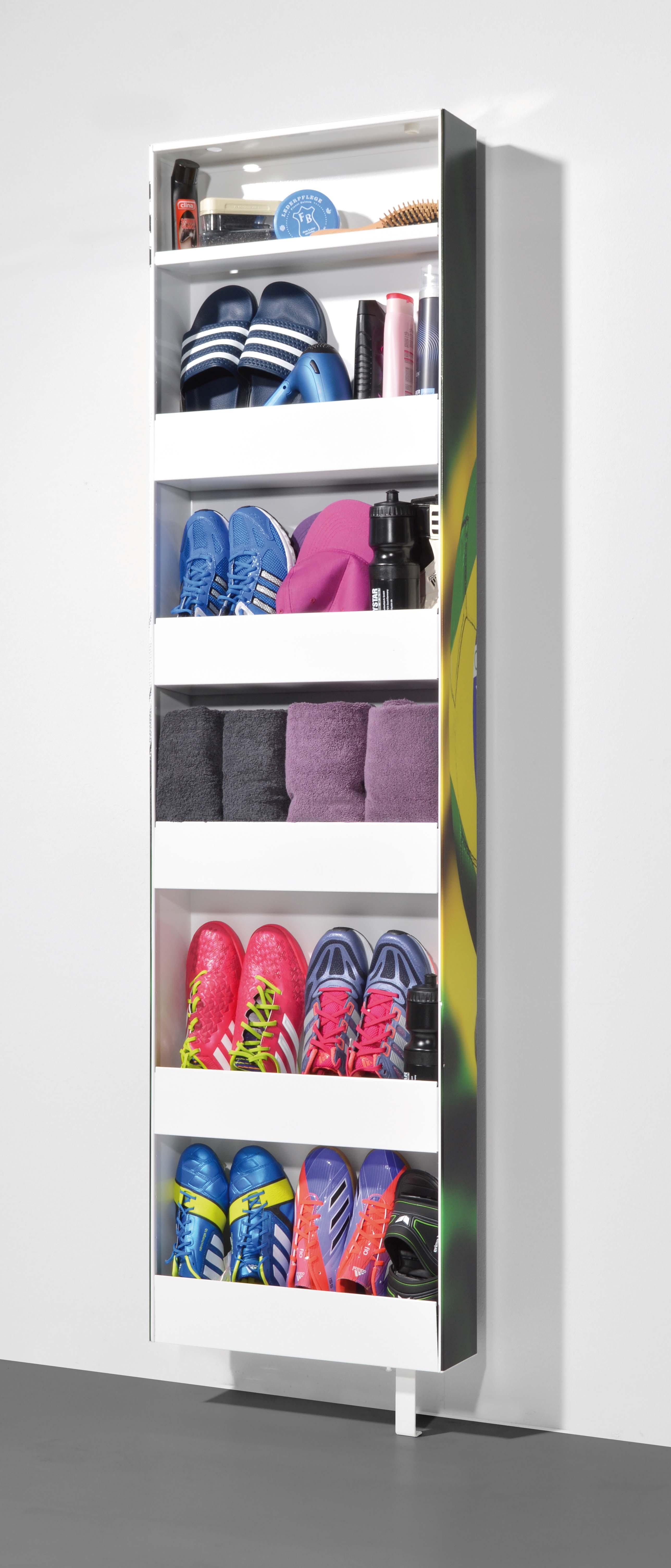 Details Zu Drehbarer Schuhschrank Drehschuhschrank Mehrzweckschrank Schrank Motiv Brazil
