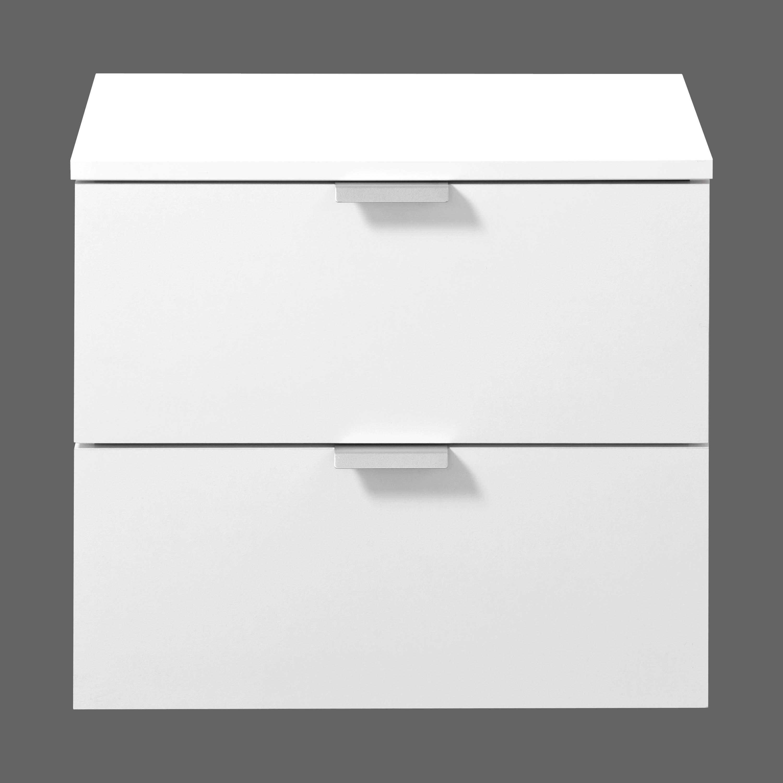 nachtkommode nachtkonsole nachttisch nachtschrank 2 schub weiss k618 ebay. Black Bedroom Furniture Sets. Home Design Ideas