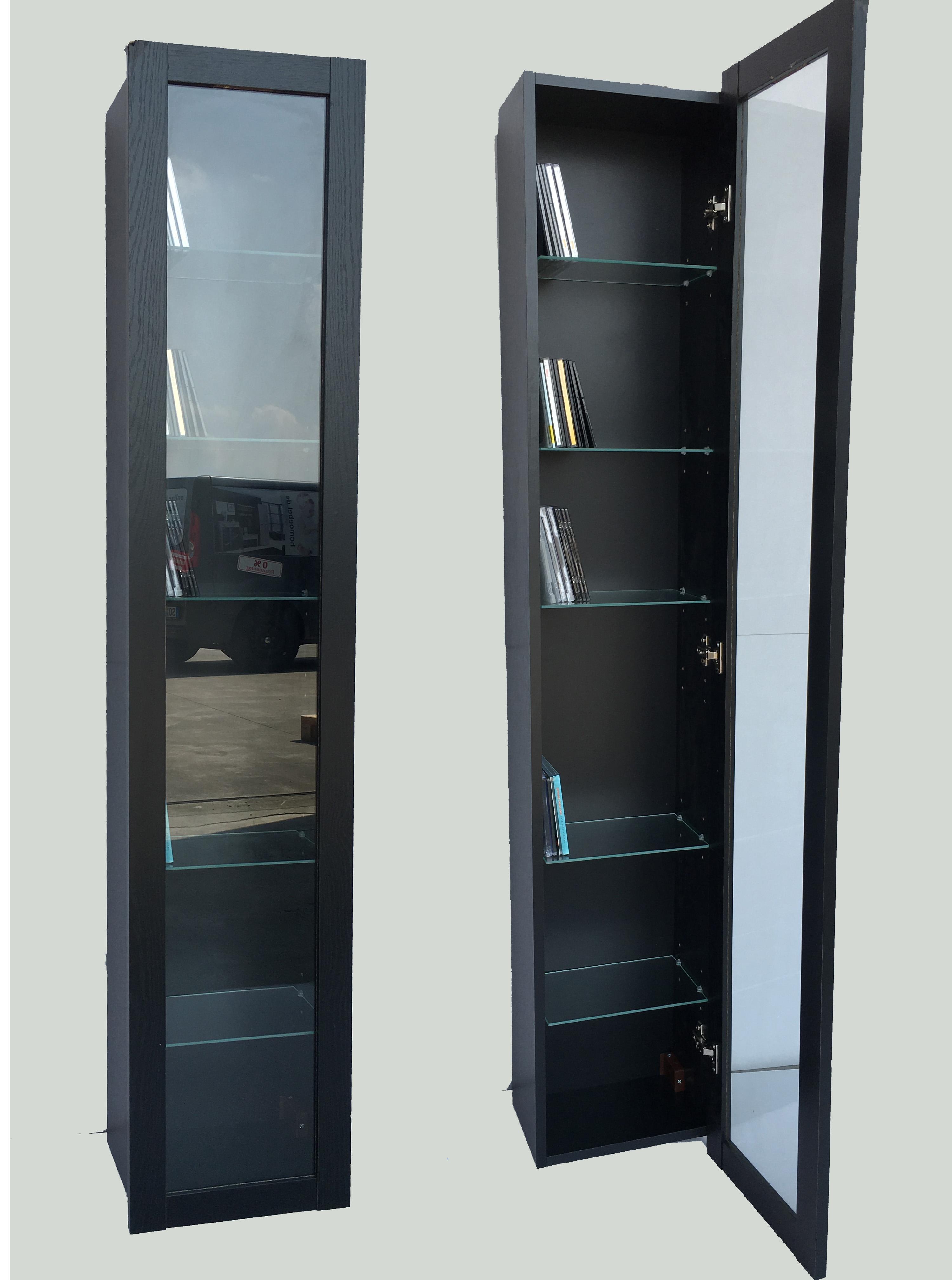 standvitrine glasvitrine sammlervitrine vitrine 1 trg glas. Black Bedroom Furniture Sets. Home Design Ideas